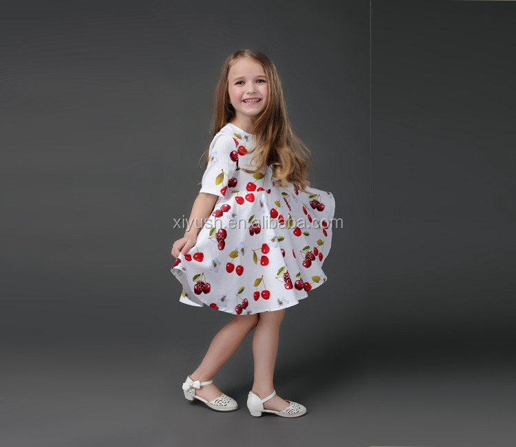 Hotsale New style dress model 10 year old girl