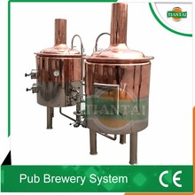 Mini brewery home breweing equipment, 50L,100L,200L per batch