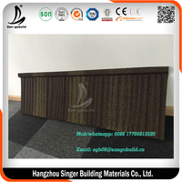 Classical/wood/Shingle/Bond/Roman Stone Coated Roofing Tile In Yiwu