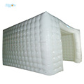 Portable White Inflatable Exhibition Tent With LED Light For Sale