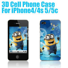 [HANATA] 3D Despiceffective Me Mobile Phone Case for iPhone4/4s/5/5c Made in China