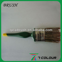 "2.5"" inch Chinese white and black bristle paint brush,paint brush zhenjiang,plastic paint brush covers"
