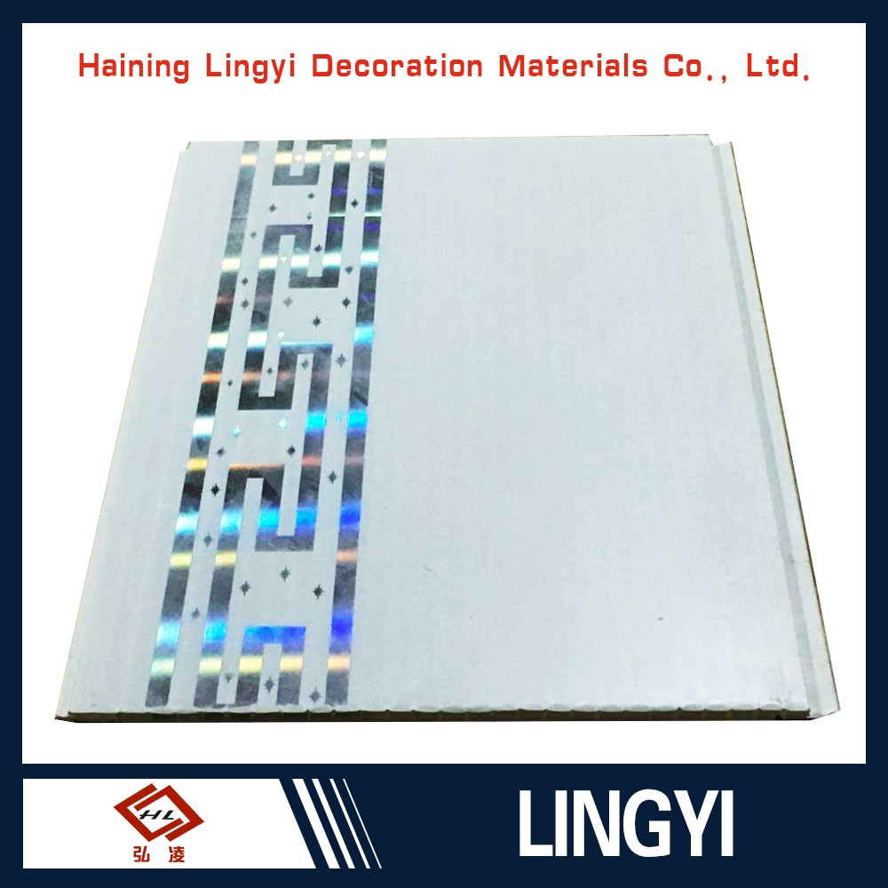 Factory price white bamboo ceramic bathroom plastic wall tile panel