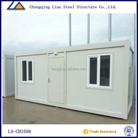 Steel prefabricated houses Assemble Shipping container homes for sale