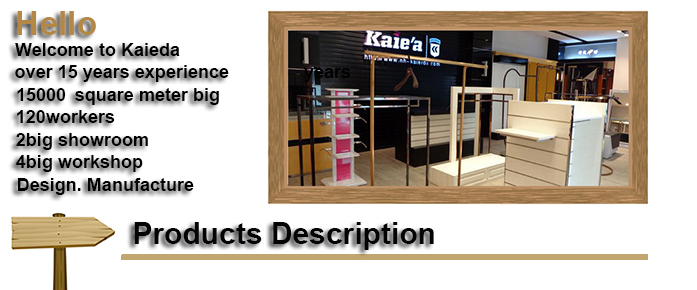 modern shop counter design for garment store