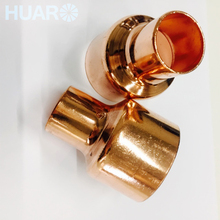 Factory Price Straight Refrigeration Copper Fittings Coupling Cxc