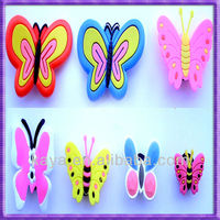 OEM Attractive 3d Soft Plastic Butterfly