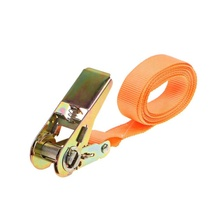 13 FT 25mm 4m Portable Heavy Duty Cargo Strap Luggage Lashing Strong Ratchet Strap Belt with Metal Buckle