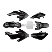CRF50 Plastic Body Fairing Kit for BLACK 50cc 70cc 90cc Atomik Thumpstar Pitpro
