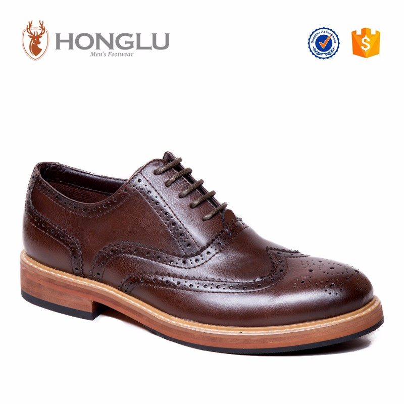 2016 fashion brogue shoes most popular casual