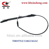 HEBEI JUNXIANG MOTORCYCLE throttle cable BAJAJ