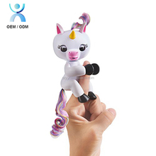Sloth Squirrel Unicorn Electronic Motion Fingers Interactive Baby Kid Toy