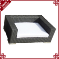 New products different type dog house sale plastic wicker pet house