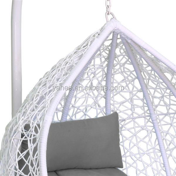 Rattan Wicker Weave Swing Chair Beach Garden Hanging Hammock Chair