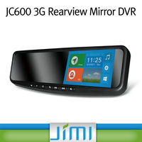 Newest car rearview computer monitor rear view mirror mirror camera dvr Support GSM 850/900/1800/1900, WCDMA 2100/900, JC600