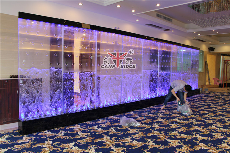 made in china floor standing led water wall lounge decor, view, Home designs