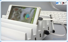6 Port Multi-Port USB Desktop Stand Station Cradle Charger charging dock for phone and pad