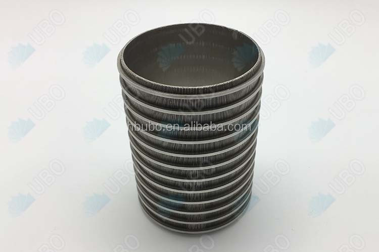 Johnson wedge wire screen resin trap strainer water well pipe
