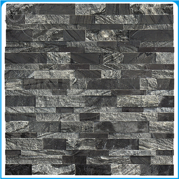 Ancient Marble Thin Stacked Stone Walls Panels For Interior Backsplash