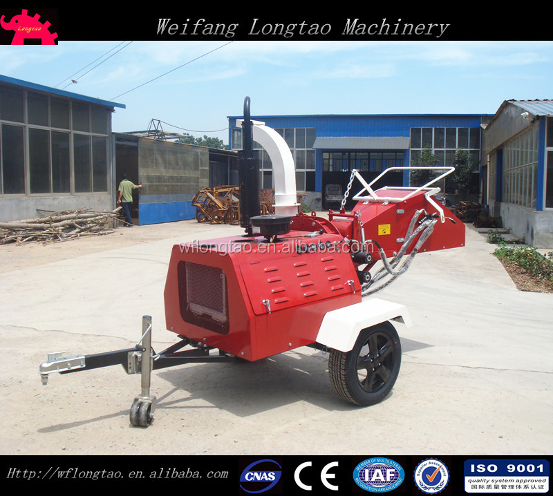 50hp diesel wood chipper shredder/wood chipper machine/wood chipping machine
