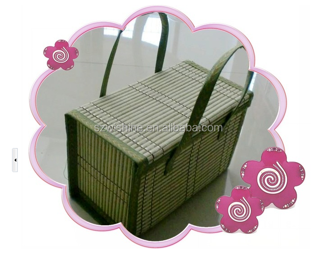 high quality cheap price bamboo hanging baskets/organization baskets/bamboo baskets