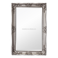 popular ornate baroque bathroom wooden frame mirrors decor wall