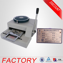 Factory Price Standard Dog Tag Letterpress Embossing Imprint Machine