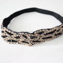 hot Selling models in Europe and America hair band <strong>headband</strong> head accessories band handmade beaded <strong>headband</strong>