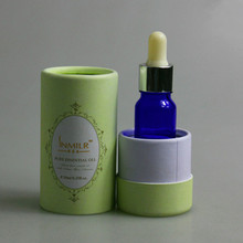 cosmetic skin care 30ml dropper bottle round packaging boxes 50ml essential oil packaging paper tube