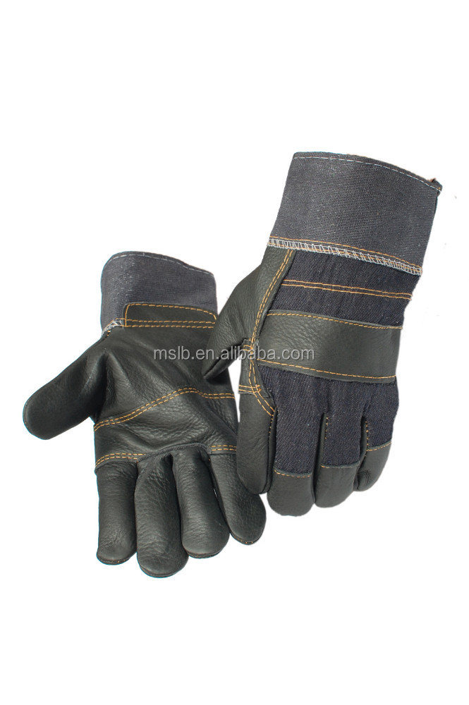 Welding and Soldering Supplies Cheap Leather Work Gloves
