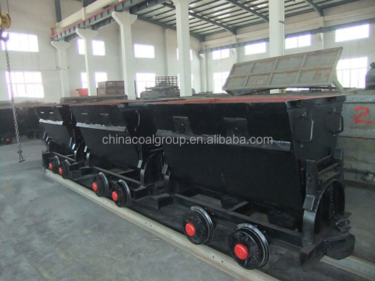 China Coal Coal Mining Cart KFU0.75-6 Bucket Tipping Mine Cart