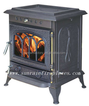 classic multi fuel cast iron solid fuel stove(JA049)