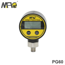 MAC Low Price Stailess Steel Digital Oil Water Pressure Gauge