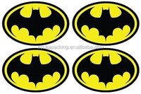 REFLECTIVE BATMAN LOGO helmet motorcycle car Sticker Decal Vinyl comic Superhero