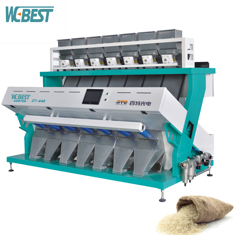 Easily Operate System China Manufacturer Rice Color Sorter Machine, Small Rice Mill