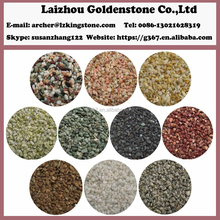 Garden decoration natural polished washout pebbles prices red pebbles