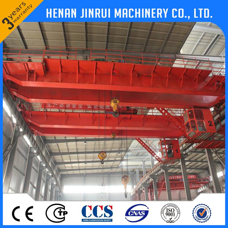 Customize General Material Handling Lh Model 5 Ton Double Girder Overhead Crane