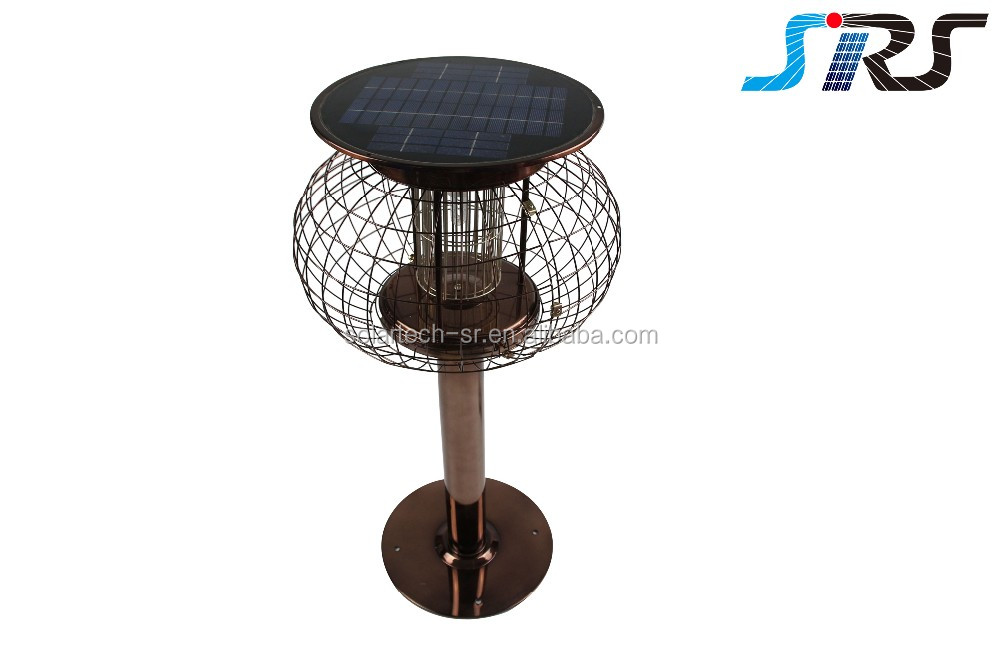 Hot selling Blue light solar insect killer lighting, powerful function, kill insect by pure energy