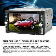 HD 6.2 inch 2 Din Car Stereo DVD Player 6205