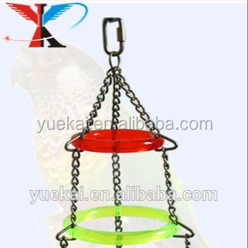 Acrylic House Bird Toy with Bell and Dice