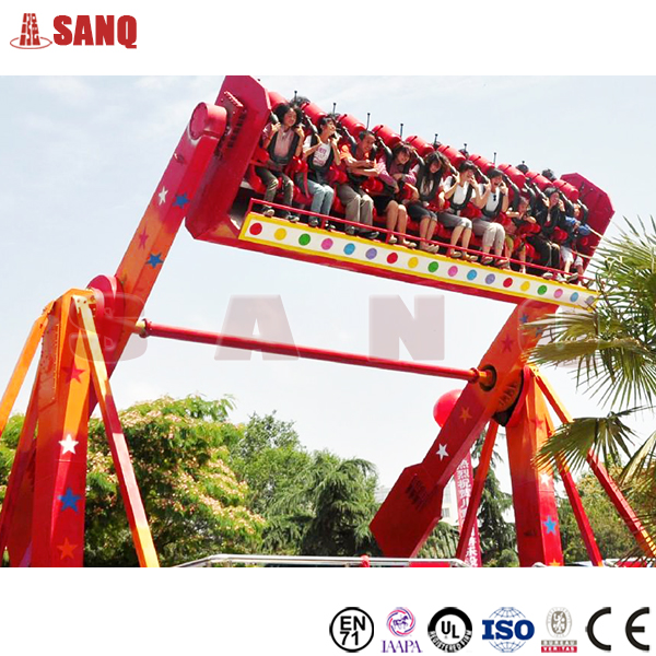 China supplier Amusement top spin rides for sale