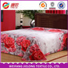 Weifang factory wholesale 3 D disperse printing100% polyester fabric for bedding set/bed sheets/quilt cover/pillow case