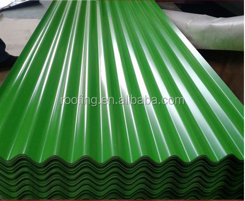 Alibaba wholesale Cheap Metal Light Weight Galvanized Prepainted Roofing Steel Material / PPGI GI Corrugated Structural Sheet