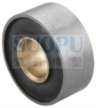 SUSPENSION rubber bonded copper bushing TS16949 OEM SUPPLIER
