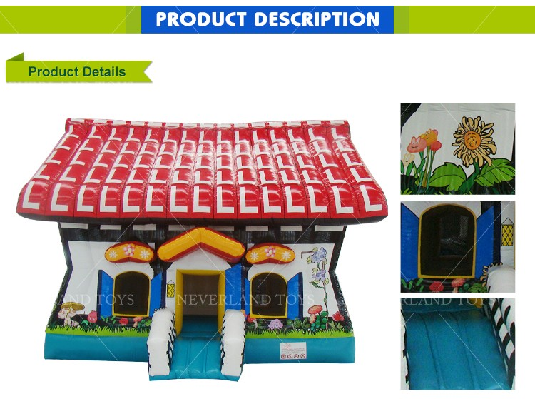 NEVERLAND TOYS Small Indoor Inflatable Bouncers Kids Inflatable Trampoline House Jumping Castles for Price