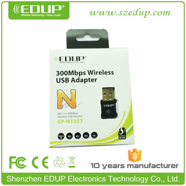 EDUP IEEE802.11n 300m USB Wireless Adapter (EP-N1557)