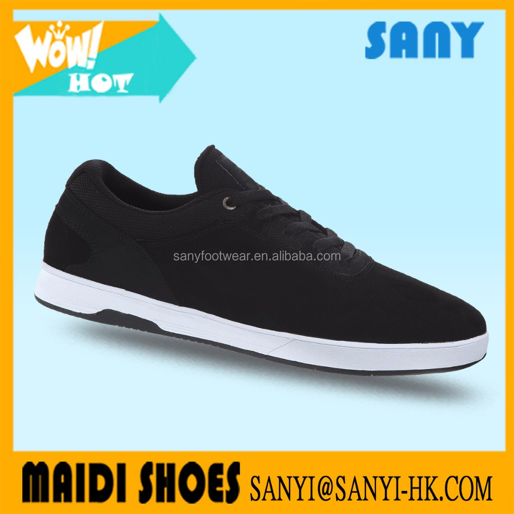 Newest classic styles casual shoes suede skate board shoes for men