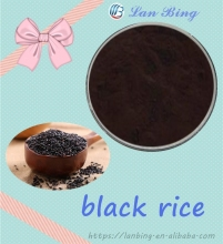 High quality 100% natural black rice bran black rice extract powder black rice extract supplement