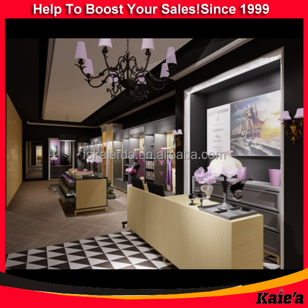 Customize Elegant Bra Display Rack Underwear Shop Interior Decoration