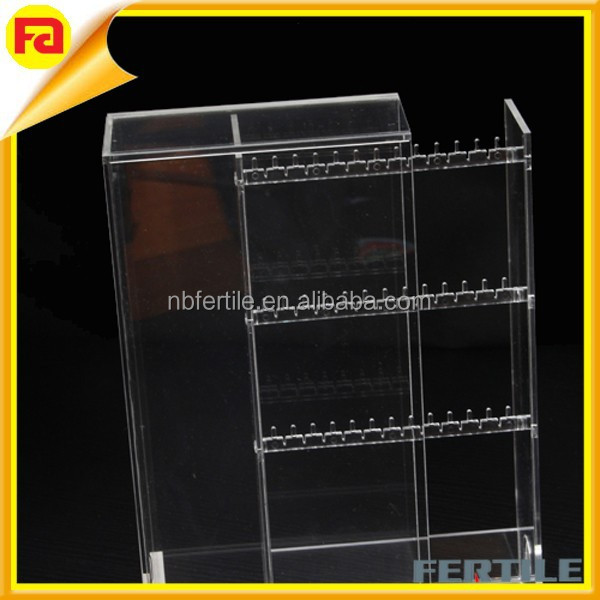 Stackable Acrylic Earring Organizer high quality acrylic display boxes